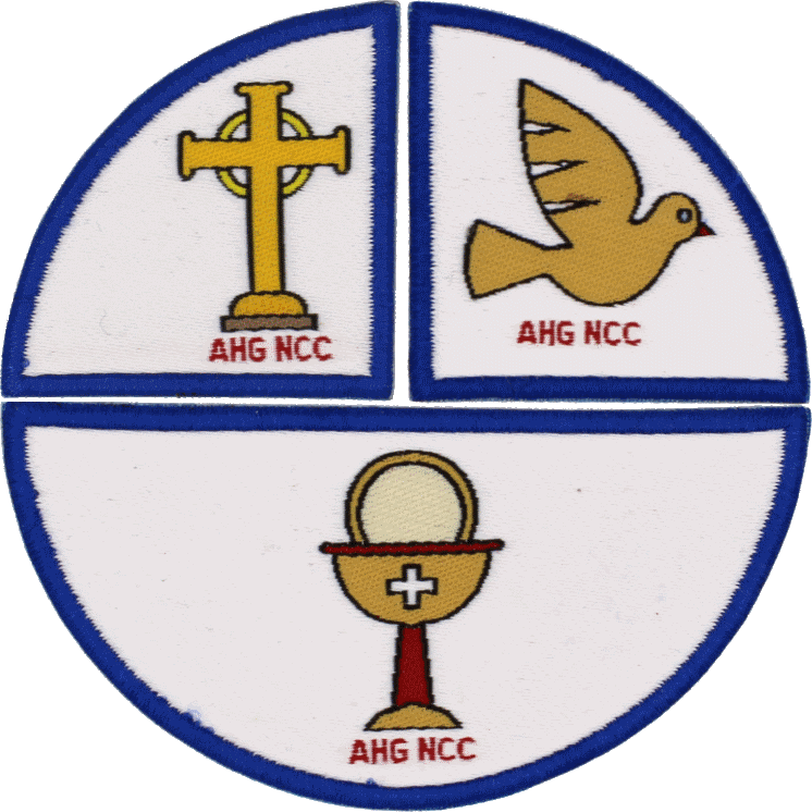 God and My Family patches