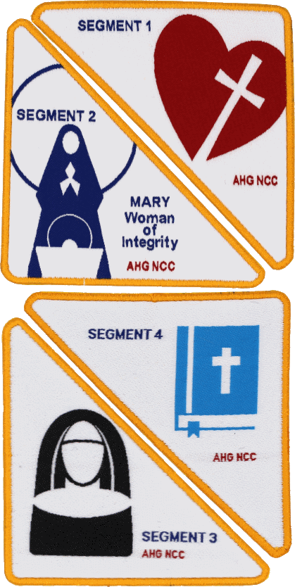 Woman of Integrity patches