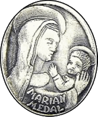 Mary the First Disciple medal