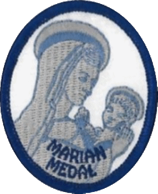 Mary the First Disciple patch